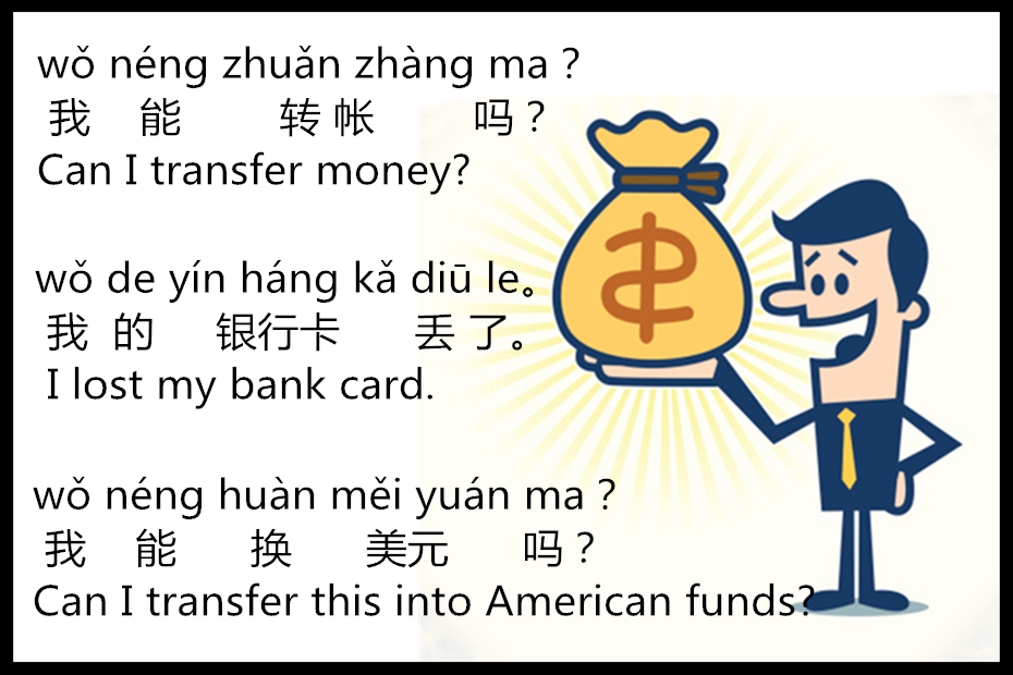 Lesson 88 Revision of Expressions Used in the Bank 第八十八课 银行复习课