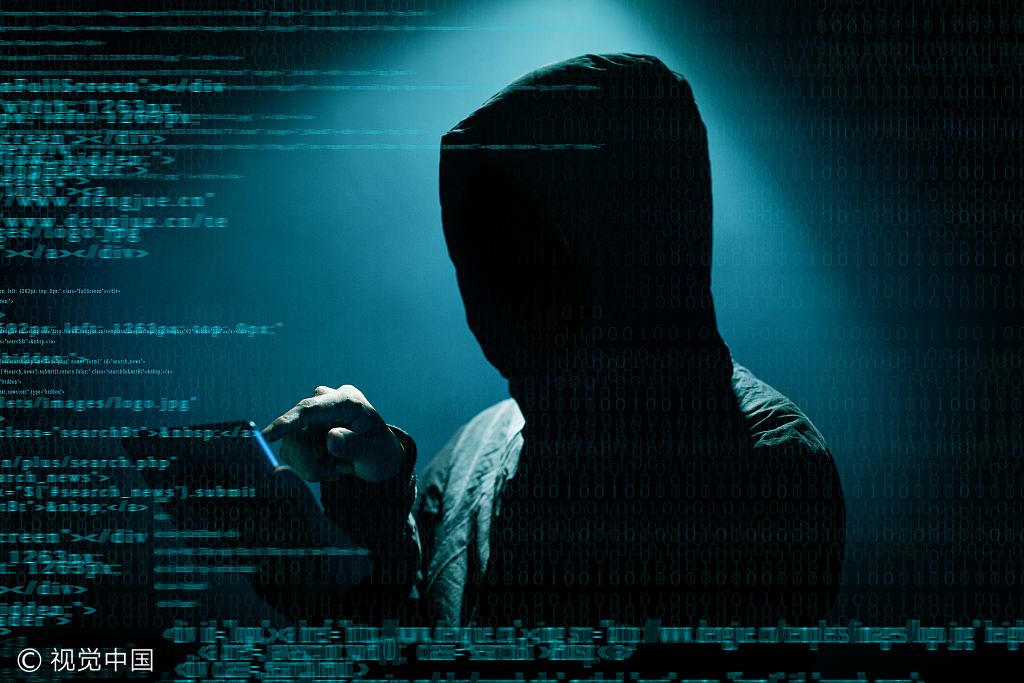 Hacker attacking in internet [File Photo: VCG]